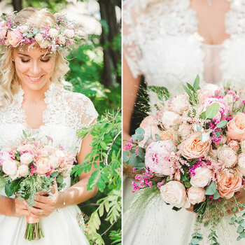 La mejor selección de ramos de novias para esta temporada: ¡llena tu boda de color!