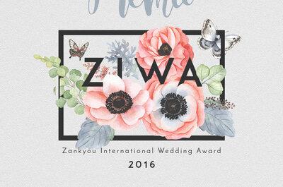 Premiados en los ZIWA 2016 ¡a nivel internacional!
