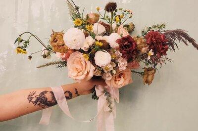 Las 10 mejores flores para tu boda: ¡Logra la ambientación ideal!