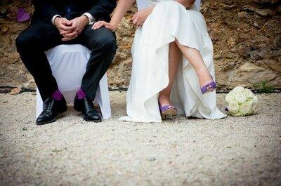 Chaussures de mariée 2015 : tradition, vintage et confort au rendez-vous !