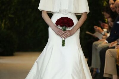 Colección de vestidos de novia Carolina Herrera Primavera 2014
