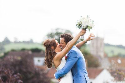 Destination wedding: de plattelandse bruiloft in Engeland van Sarah en Hans!