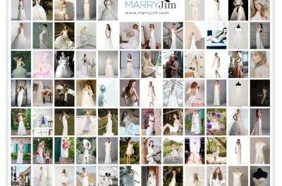 MARRYJim: der Showroom für gebrauchte, neue, sexy, elegante, kurze, lange  – kurzum für alle Brautkleider