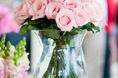 Cómo elegir las flores y arreglos de la decoración de tu boda de acuerdo a tu bolsillo