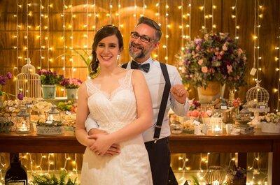 Casamento de Marina e André: festa rústico-chic no Lo Spazio em São Paulo!