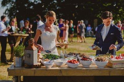 De beste catering services voor je bruiloft in Noord-Holland!