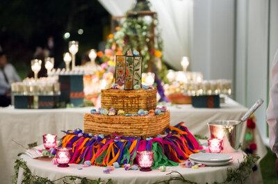 Las tortas de matrimonio y las historias acerca de su origen