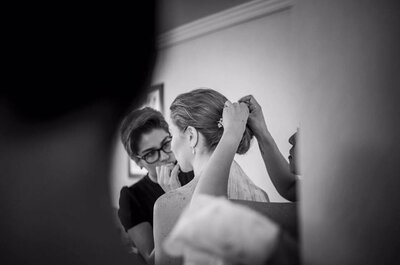Las mejores ideas en peinado y maquillaje para una novia clásica