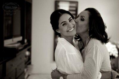 Mucho color y personalidad: La increíble boda de Eugenia y Santiago