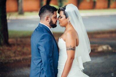 Casamento geek de Livia e Alex: moderno e ultra personalizado!
