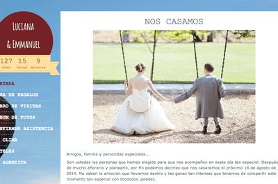 Bohemia, vintage o minimalista: Crea la página web para tu boda perfecta para tu estilo