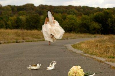 Kalte Füße vor der Hochzeit