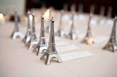 A très chic French style wedding