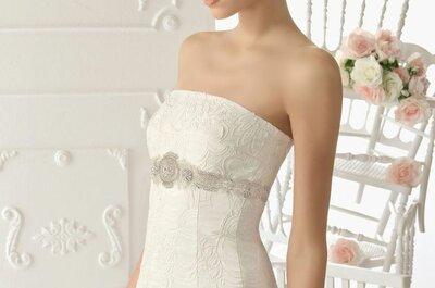 Vestidos de noiva com pedraria
