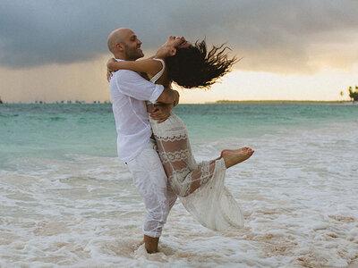 No te pierdas el primer baile de esta divertida pareja: La coreografía perfecta