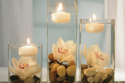 Table centerpieces for your wedding