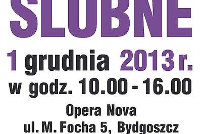 Targi ślubne w Bydgoszczy 1 grudnia 2013 roku