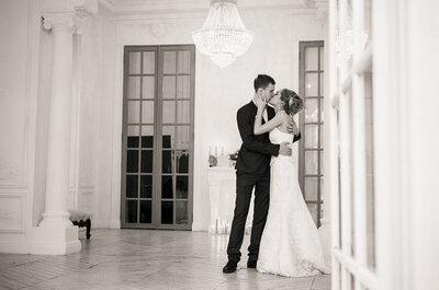 Классическая свадьба Алексея и Евгении: изысканность и стиль