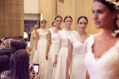 Os vestidos de noiva Lethicia Bronstein no Fashion Casar 2013