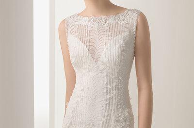 Sutileza de detalhes lindos na coleção Soft dos vestidos de noiva Rosa Clará 2015