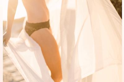 Inspírate en esta linda sesión de fotos boudoir al aire libre