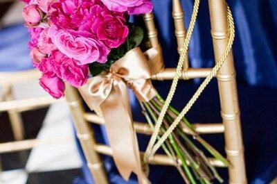 Decoración de sillas para bodas