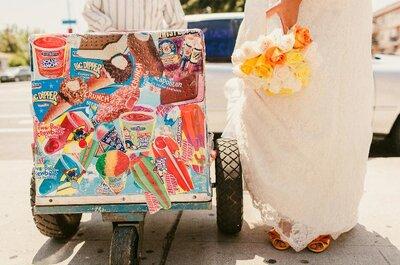 Inspiraciones de color para bodas de verano 2013