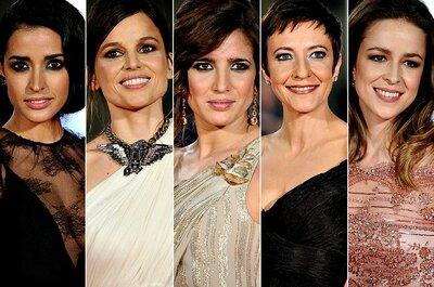 Maquillaje y peinados para boda inspirados en los premios Goya