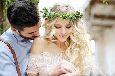 Penteados de noiva para o Inverno de 2017: tendências que não podem deixar escapar!
