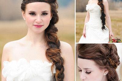 Todas las tendencias en peinados de novia 2013