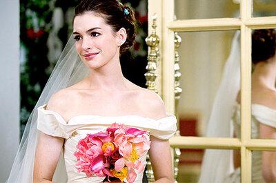 Anne Hathaway se casa con un vestido de novia de Valentino