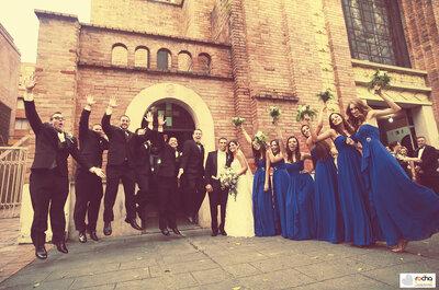 Algo azul: La boda de Jhoana y Thomás