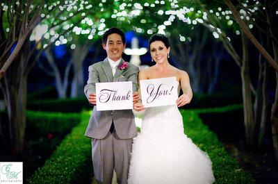 No te aguantes... ¡Dilo con la decoración de tu boda!