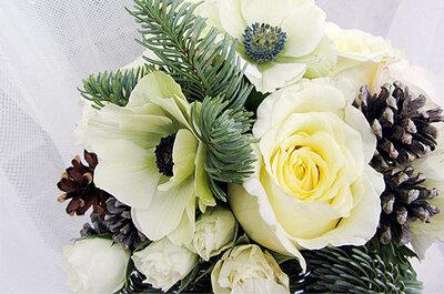 5 flores para tu boda de invierno