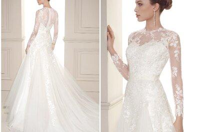 María Salas Moda Nupcial: vestidos de ensueño para novias sensacionales