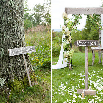 La madera, protagonista en la decoración de tu boda... ¡Inspírate!