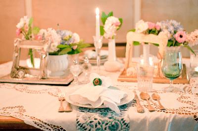 Inspire-se para um chá de cozinha vintage