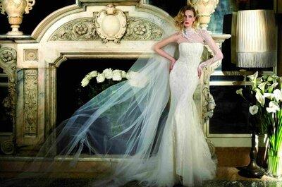 Eva Riccobono per la collezione sposa Alessandra Rinaudo 2013