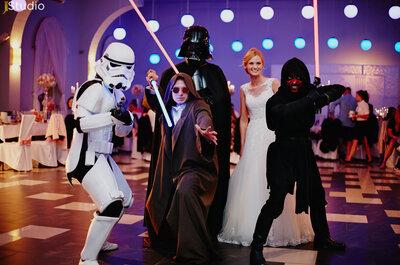 Pełen wzruszenia ślub i wesele w towarzystwie Gwiezdnych Wojen! Nie przegap!