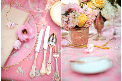 Not just radiant orchid: 6 on-trend colours for your 2014 wedding