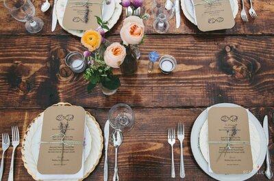 Cómo decorar una boda con estilo rústico: descubre los trucos más chic