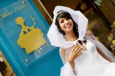 Aurele Création : des robes de mariée sur mesure et d'exception