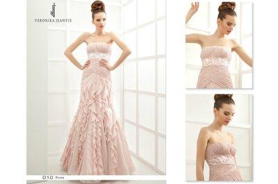 Veronika Jeanvie : des robes de mariée personnalisées, tendances et de grande qualité