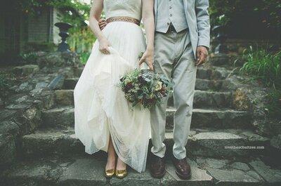 Demais! Casamento totalmente inspirado nas ideias cuidadosamente postadas no Zankyou