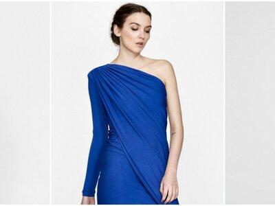 Vestidos de fiesta azules cortos 2017: el color perfecto para todo tipo de mujer