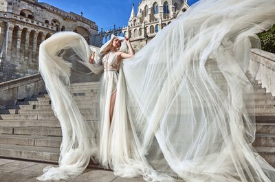 Ivory Tower: Haute Couture Bridal Collection by Galia Lahav
