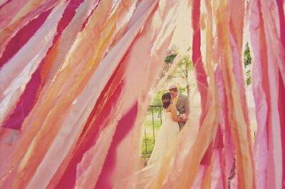 Streamer Wedding Decorations! A Fun & Colorful DIY Idea