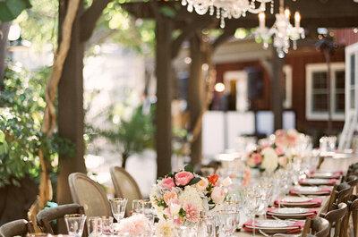 40 lámparas de araña para decorar tu matrimonio
