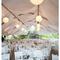 Decoración en color blanco para boda - Foto Marissa Rodriguez Photography
