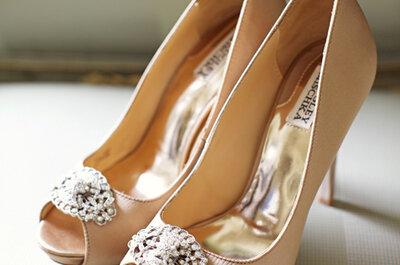 Las novias usan Badgley Mischka: Descubre los más lindos zapatos para tu look nupcial